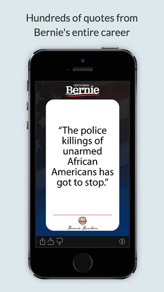 See more of Texts From Bernie Sanders