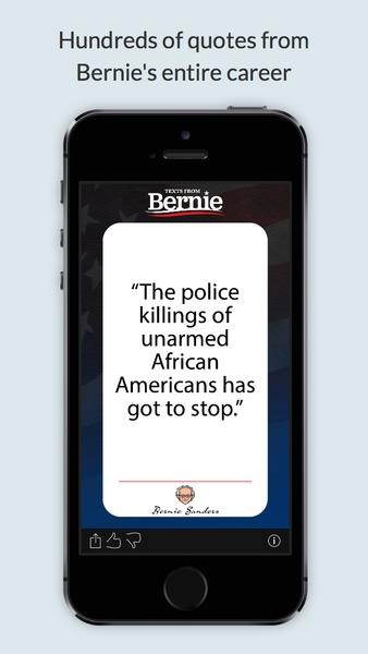 Texts From Bernie Sanders full screenshot